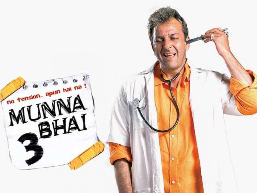 'Munna' is desperate to start shooting for Munna Bhai3!