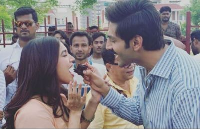 Bhumi's birthday celebrated at 'Pati Patni aur wo set', check pics here