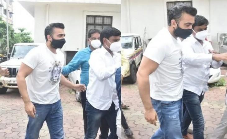 जेल जाते समय राज कुंद्रा के चेहरे पर नहीं दिखा पछतावा, टशन में आए नजर