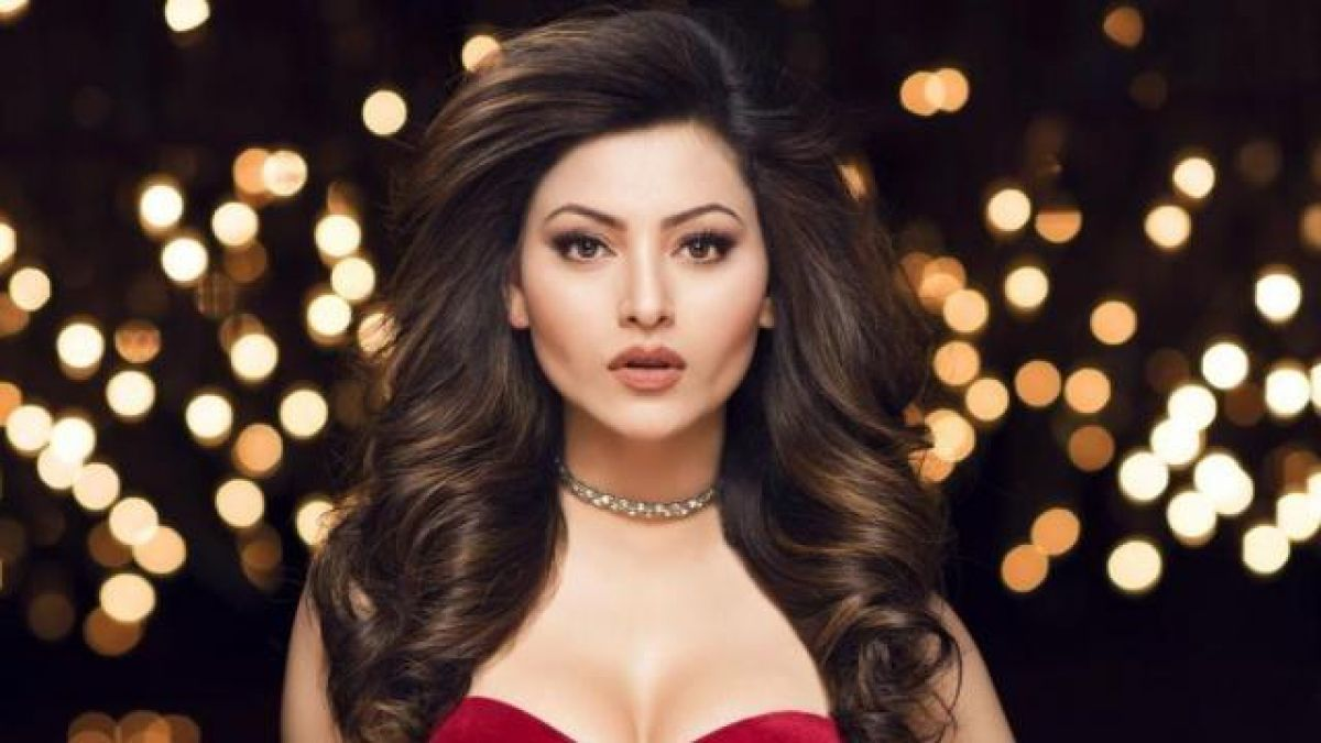 Urvashi looks stunning in Red Lehenga, check out photo here