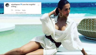 Arjuna showed his love for Malaika again, commented this on her picture!