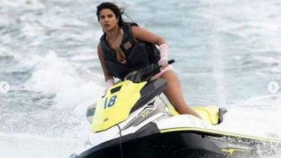 Priyanka was seen in a fun mood, shared a special photo with husband Nick