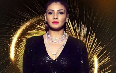 This exclusive photo of Raveena from Salman's show!