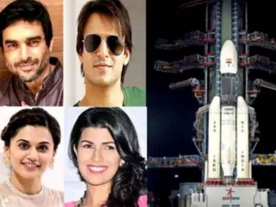 Bollywood also lauded ISRO's work, Salut at the launch of Chandrayaan-2