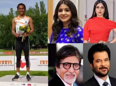 Hima Das created History, Bollywood did salute 19-year-old daughter