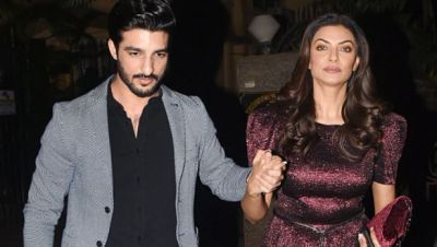 Sushmita looks Quite Romantic With Hands-In-Hand with Boyfriend, See Photos