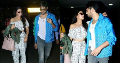 Amid the news of the affair, Siddhartha-Jacqueline spotted, seen special bonding at the airport