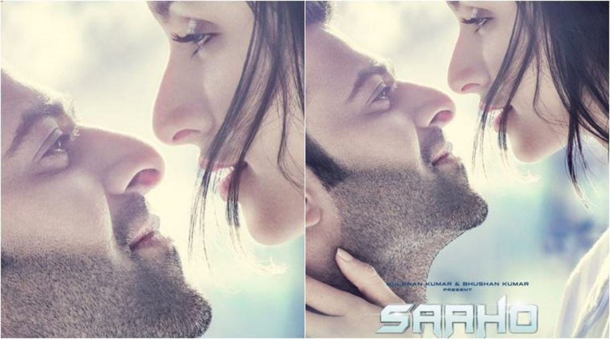 Saaho: Another poster of the film exposed, Prabhas-Shraddha appear romantically!