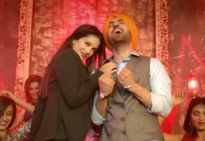 Arjun Patiala: After touching Sunny Leone this was the condition of Diljit Dosanjh!