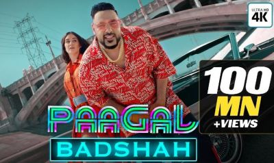 Pagal: Seeing so many views on his new song, rapper Badshah went crazy!
