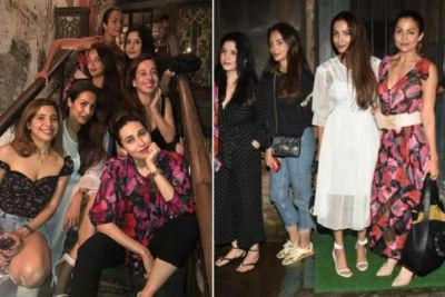 On her way back from the holiday, Malaika had fun with her girl gang; see photos!