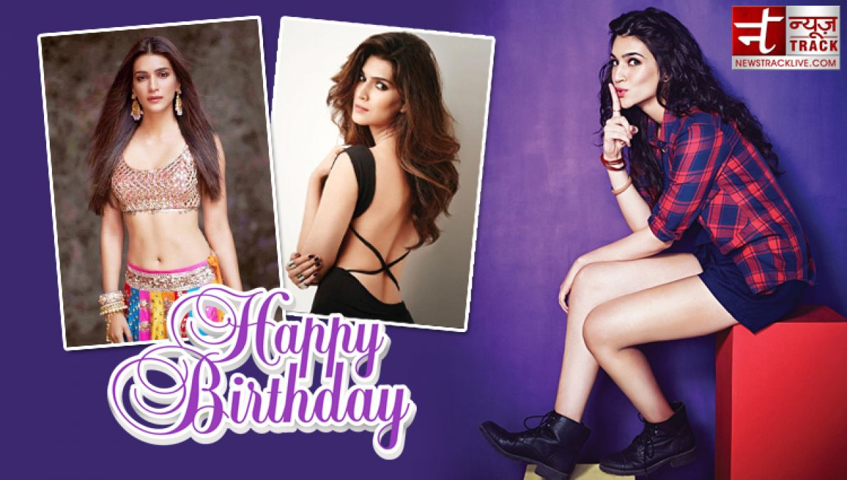 Birthday Special: Kriti started her career with this South Superstar, this actor cheated her!