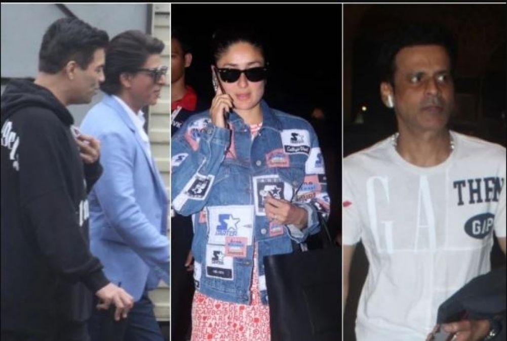 शाहरुख-करीना समेत स्पॉट हुए बॉलीवुड के ये सितारे, तस्वीरों में दिखा दमदार अंदाज