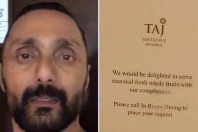 इस होटल ने अभिनेता को बेचे थे महंगे केले, अब दूसरे होटल ने किया यह बड़ा एलान, यूजर्स बोले- 'वाह ताज'