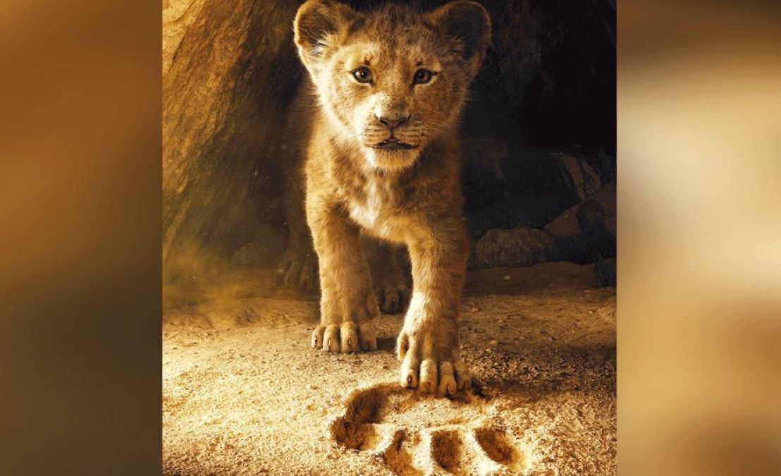 The Lion King: The only real scene of the film, a
