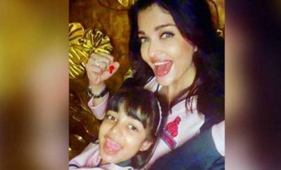Beautiful Photo Of Aishwarya and her daughter go Viral, read Abhishek's Comment!