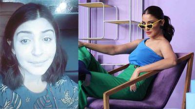 Anushka Sharma, who was caught in Mumbai's traffic, shared the video herself!