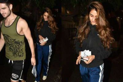 Find Out Who Is This Mystery Man With Which Disha is Seen outside the restaurant!