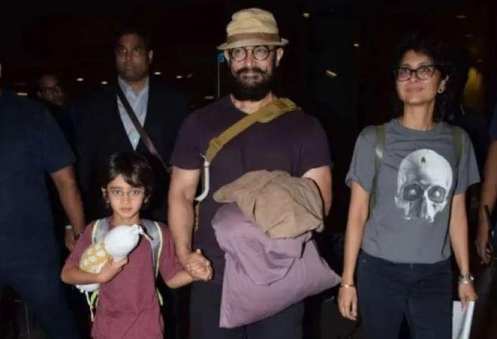 मुंबई एयरपोर्ट पर आमिर खान को पहचान नहीं सके लोग, ऐसी हो गई है हालत
