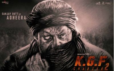 Sanjay Dutt looks deadly as Adheera in Yash starrer KGF 2, first look out