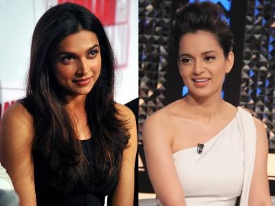 Actress Kangana Ranaut targets Deepika Padukone