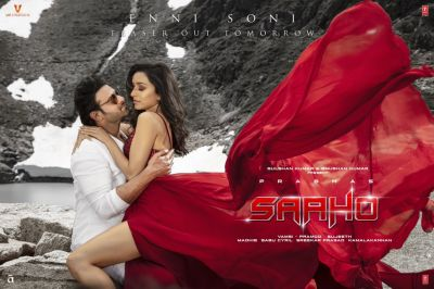 Enni Soni: Another romantic poster of Saaho's new song will be released today