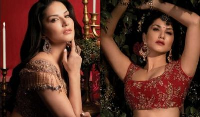See glamorous Sunny Leone's desi style, now learns these languages!