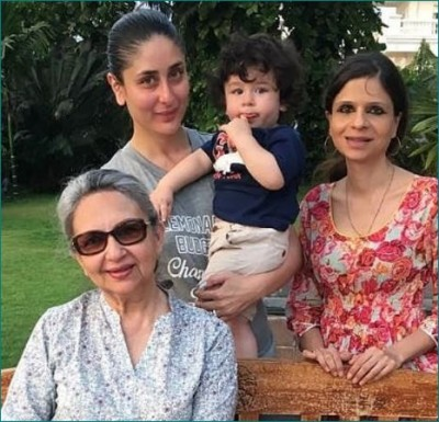 Taimur's aunt shares unseen picture of him