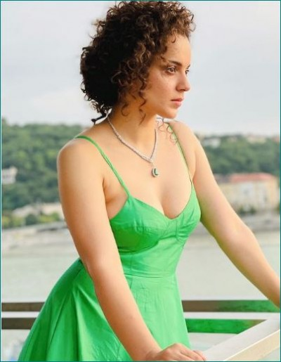 Kangana shows off her dazzling avatar in Budapest