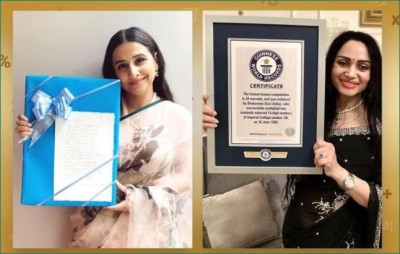 Guinness Book Record conferred 'Fastest Human Calculator' Certificate to Shakuntala Devi, Daughter Anupama receives