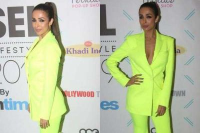 Malaika Arora showcases her cleavage in her Recent clicks!