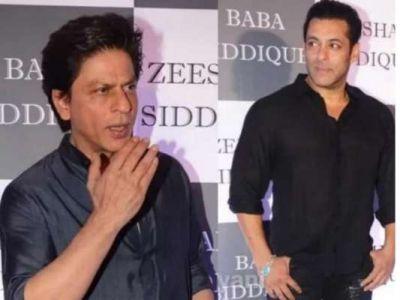 SRK-Salman arrive at Baba Siddiqui's Iftar Party!