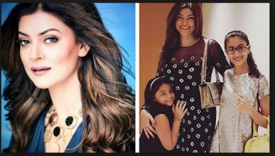 Sushmita Sen's daughters' reaction on knowing she's adopted!