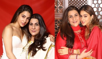 Sara Ali Khan shares picture with her mother, praises her on social media