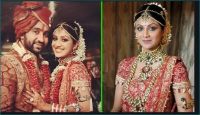 Shilpa Shetty wore saree worth 50 lakhs at her wedding