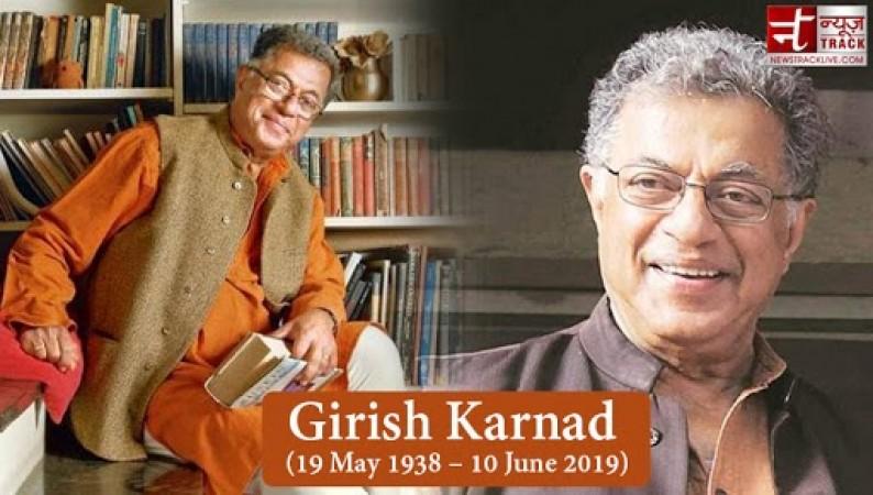कई रोमांचक फिल्मों के राइटर थे गिरीश कर्नाड