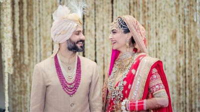 Sonam Kapoor's birthday greeted by husband Anand Ahuja in a special way
