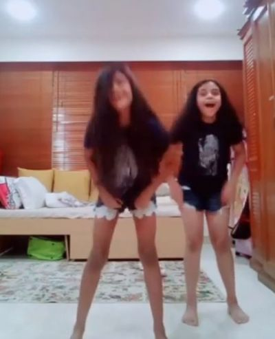 Sushmita has taught her little daughter this skill, shared video