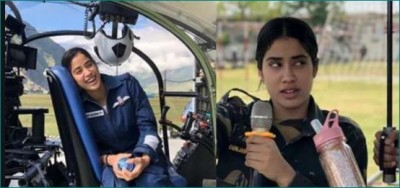 The film Gunjan Saxena will be released on Netflix