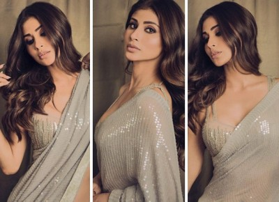 Mouni Roy once again appeared to be sharing her stunning style on social media