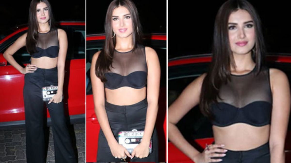 VIDEO: Tara Sutaria looks very sexy in her black dress!