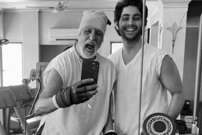 Amitabh's grandson Agastya shares picture on Instagram: here Abhishek's reaction