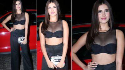 VIDEO: Tara Sutaria looks very sexy in her black dress!