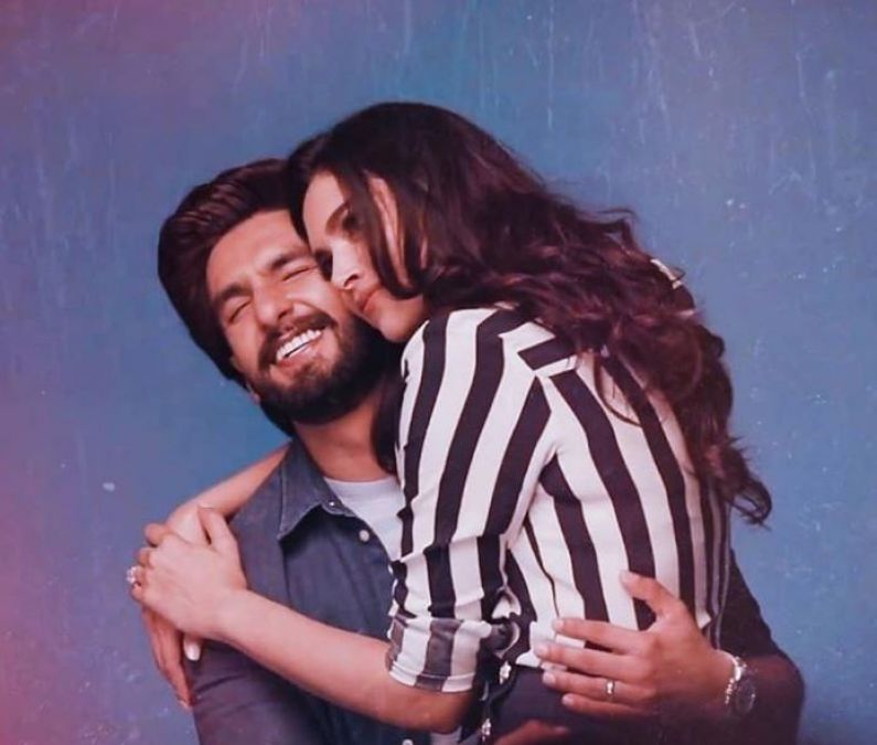 VIDEO: By sitting on Husband's lap; Deepika did this thing!