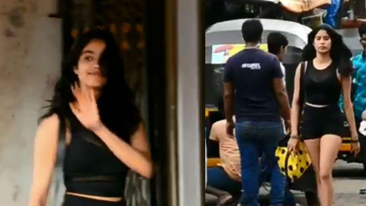 Watch: Janhavi Kapoor's recent video is the next Trend!