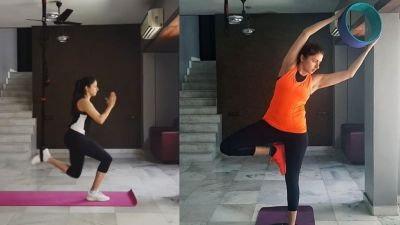 VIDEO: This is how This star keeps herself fit even at her 50's!