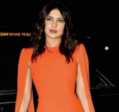 Priyanka Chopra reached the dating app's campaign launch in her perfect looks!