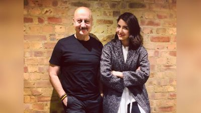 Anupam becomes a big fan of this actress; applauds a lot!