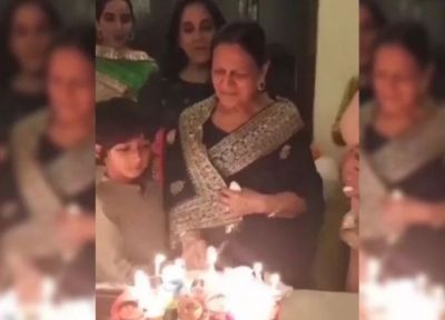 Aamir's mother turns 85; Grandchild Azad sings a song!
