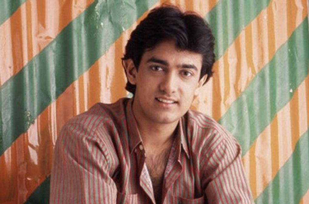 Aamir Khan shares an 18-year-old photo, here's the USP!